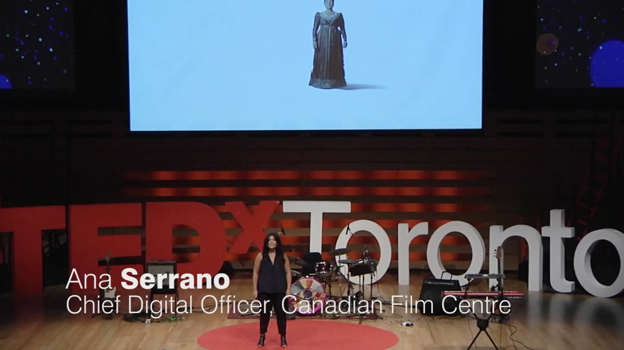 Ana Serrano gives Occupied a Nod from the TedX Stage in Toronto
