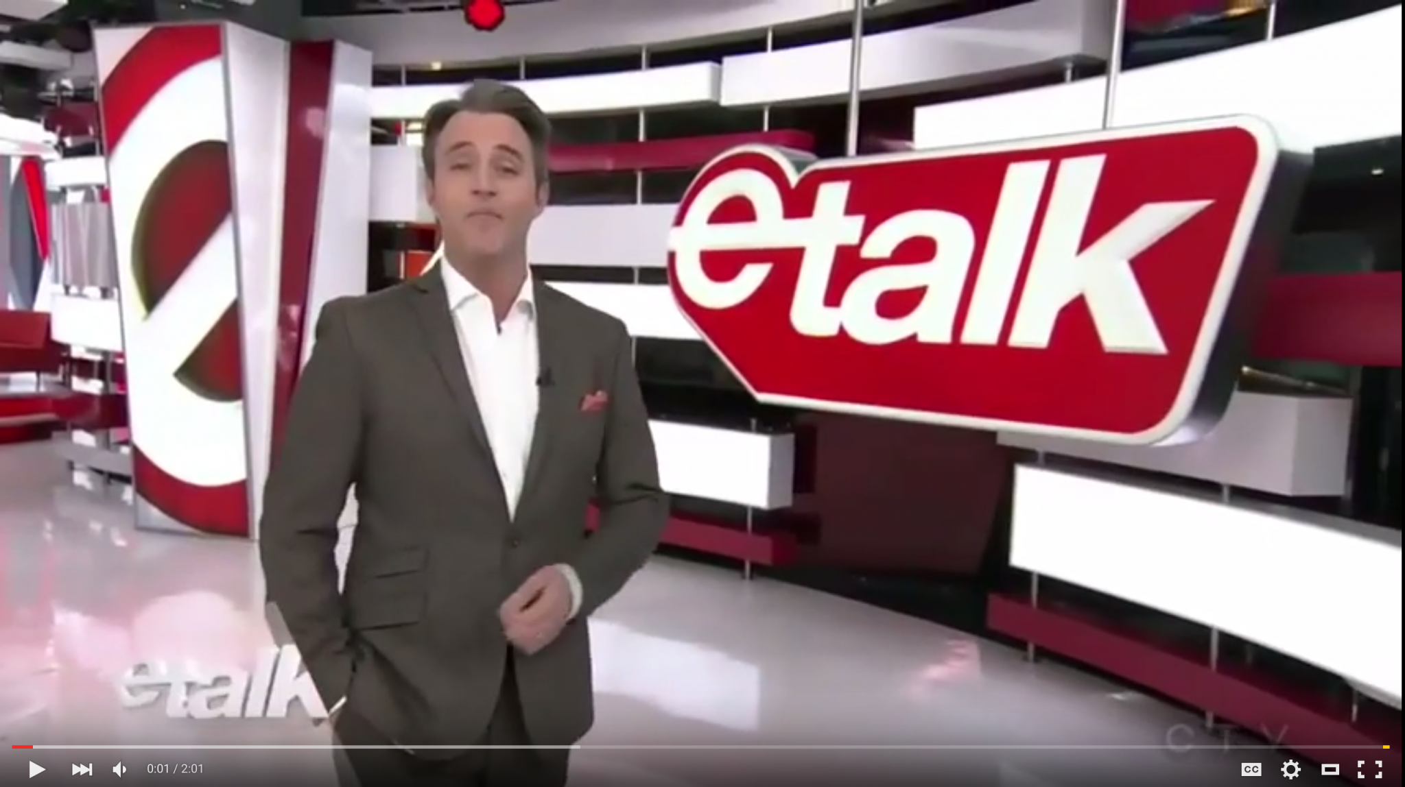 Ben Mulroney Demos BMC on e-Talk
