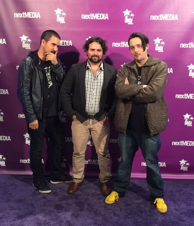 Occupied + MoonMedia hit the Purple Carpet @ The 2015 DigiAwards