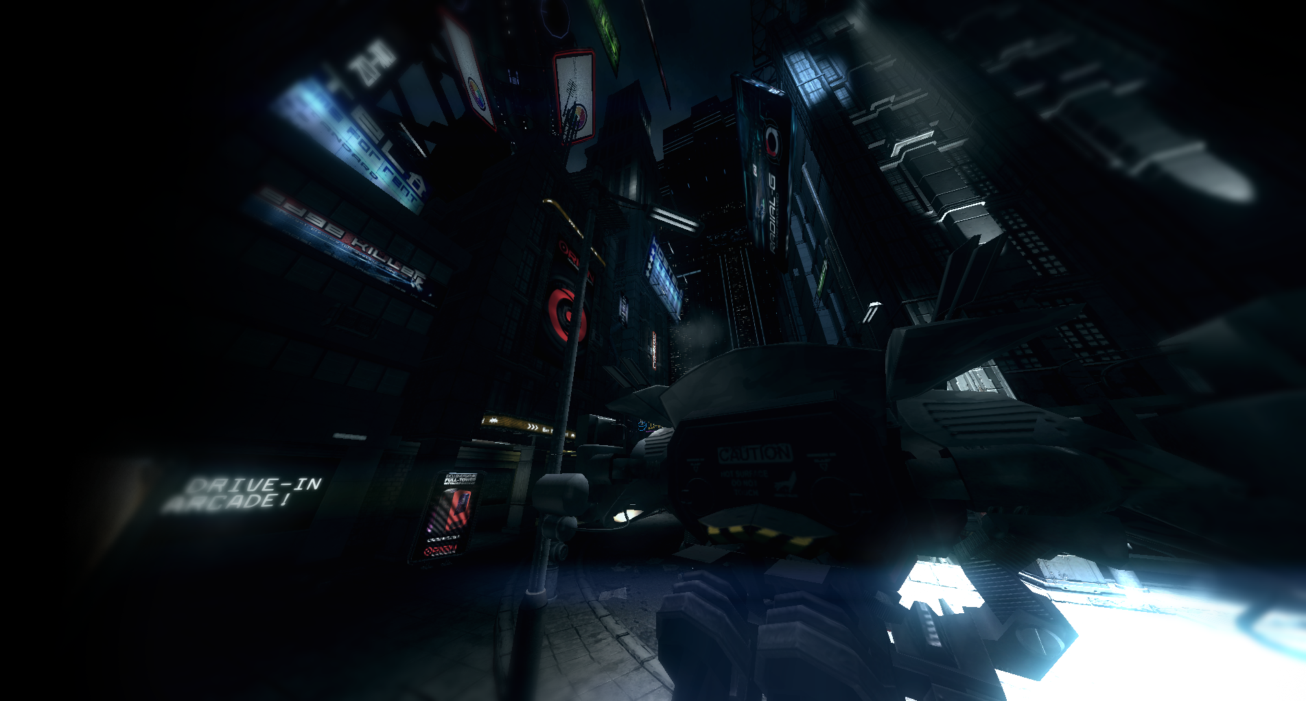 Zero Cool as a Blade Runner: Technolust demo is virtual reality's best living diorama