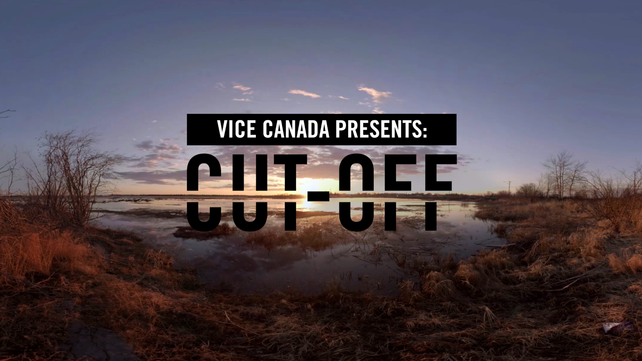J.Lee Directs Justin Trudeau in VICE's CUT-OFF Documentary