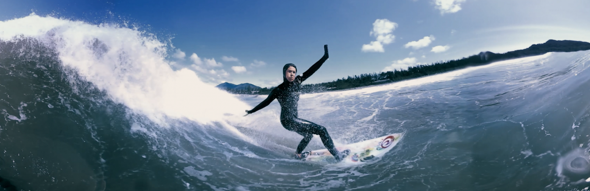 Occupied @ Tofino with Pro Surfers Noah Cohen and Hannah Scott