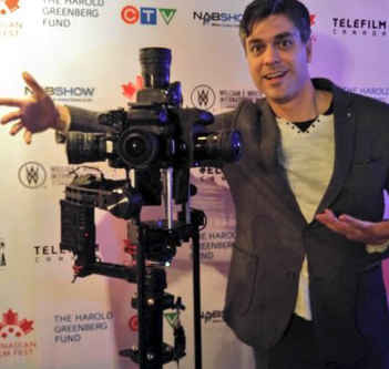 Jonny6 Cameo @ Canadian Film Fest Panel