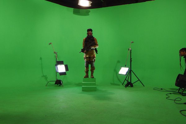 Lightcatcher BTS Green Screen - Dali