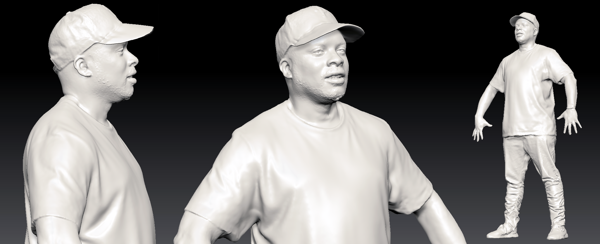 Jazzy Jeff Videogrammetry Scan No Texture